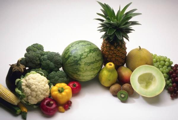 dieta variada e rica em vitaminas e sais minerais
