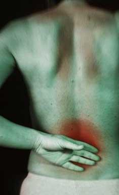 Dor miofascial na região lombar