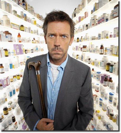 Dúvida do Dr House: e agora, que remédio devo prescrever?
