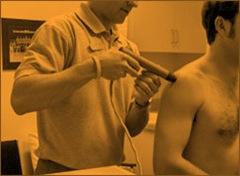 Terapia por Onda de Choque em ombro