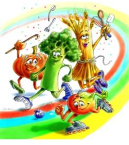 A alimentação saudável é imprescindível para a saúde de nosso organismo!